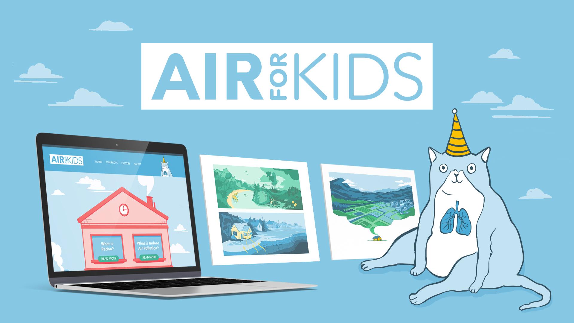 Air for kids_social