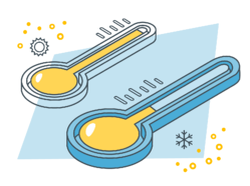 Contaminant illustration_Temperature