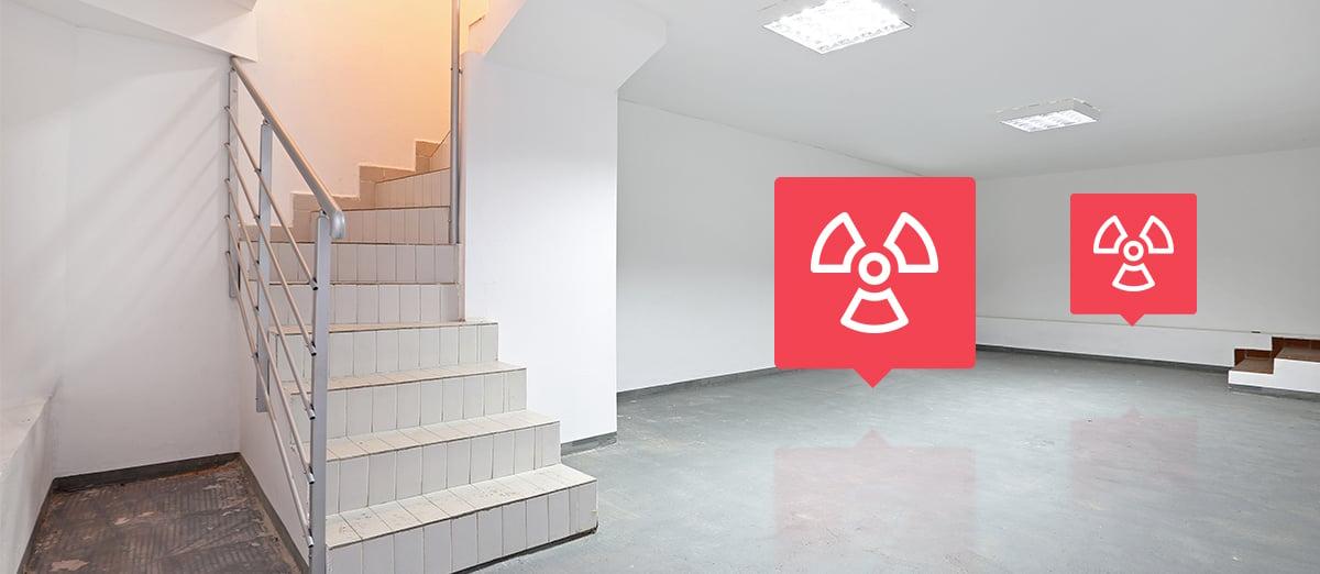 radon basement
