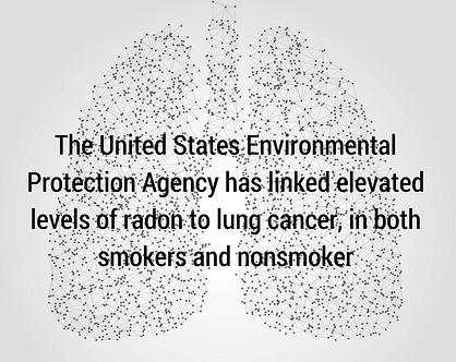 lung cancer radon