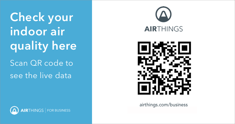 Airthings Business QR Code