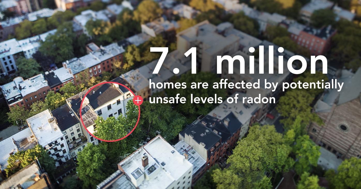 Radon levels 7.1million header