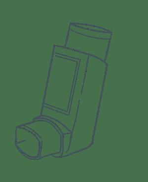Airthings image asthma pump