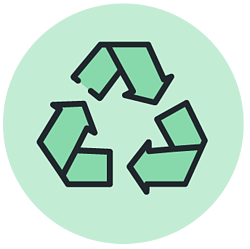 Sustainability graphics-Planet_Plastic and Recycling Projects