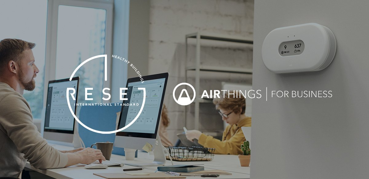 Airthings View Plus for Business - RESET