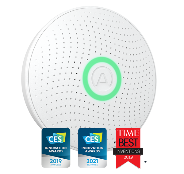 Airthings Wave Plus - 3 awards_email