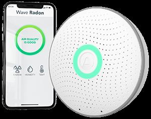 Airthings Wave Radon newsletter