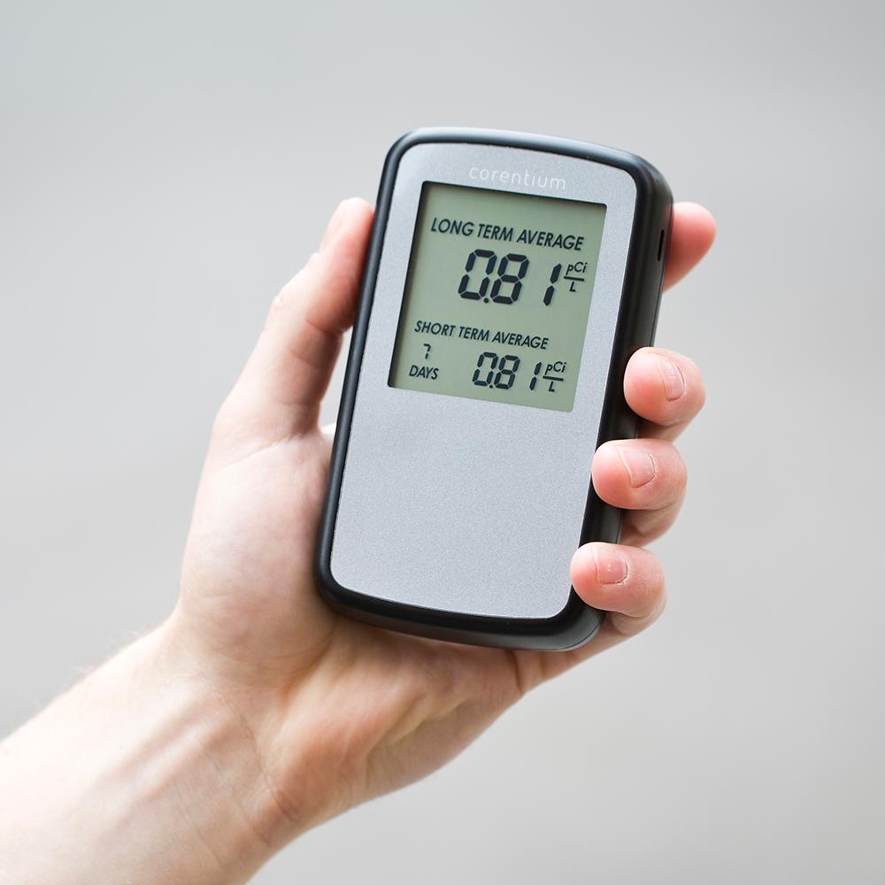 digital radon monitor