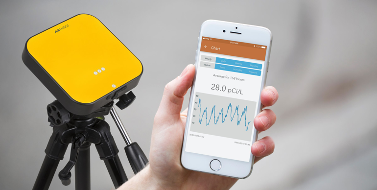 Airthings Pro app